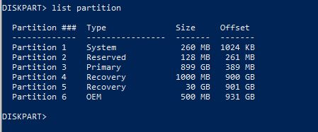 Disk management shows one less partition than diskpart and Macrium-listpartition.jpg