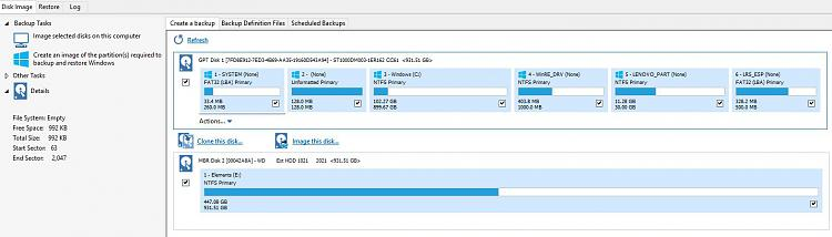 Disk management shows one less partition than diskpart and Macrium-backup.jpg