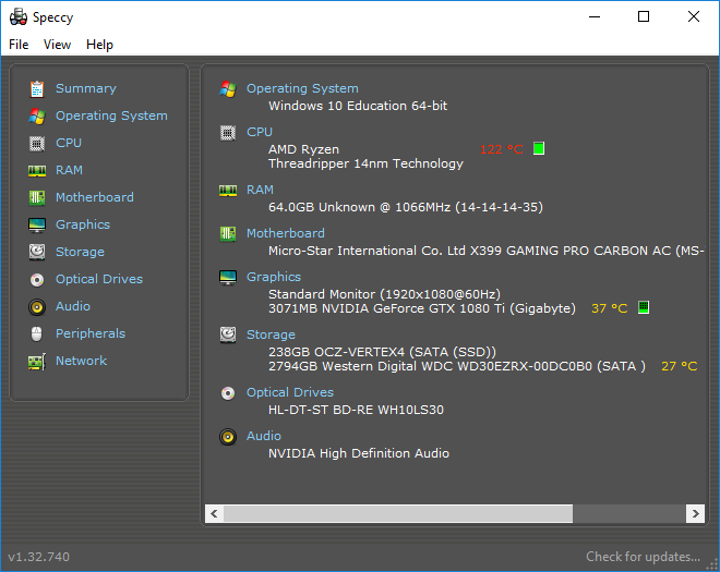 Win10 not seeing all RAM