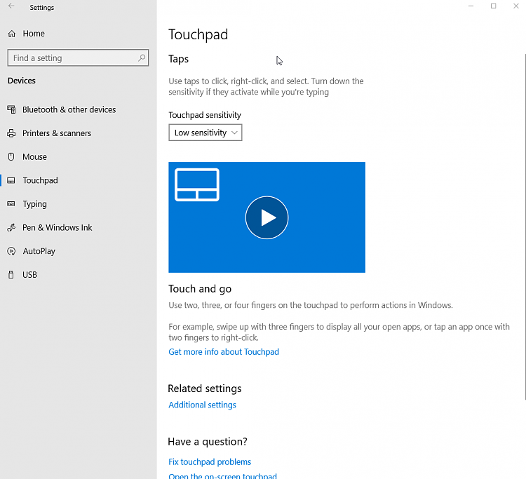 Precision touchpad Native Windows driver? Solved - Windows