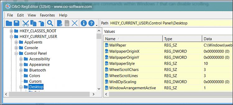 Windows 10 not registering Mouse Scroll Wheel input
