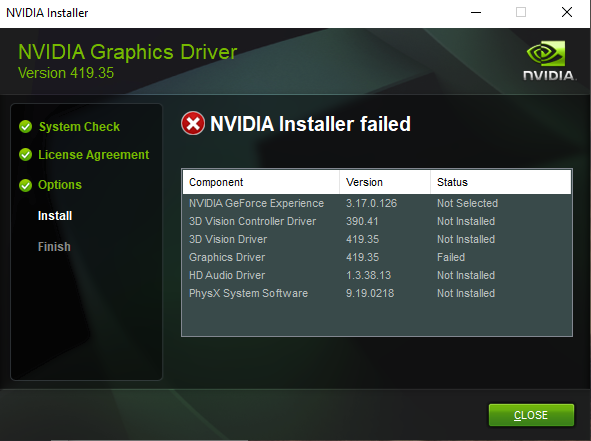 nvidia geforce experience not recording desktop