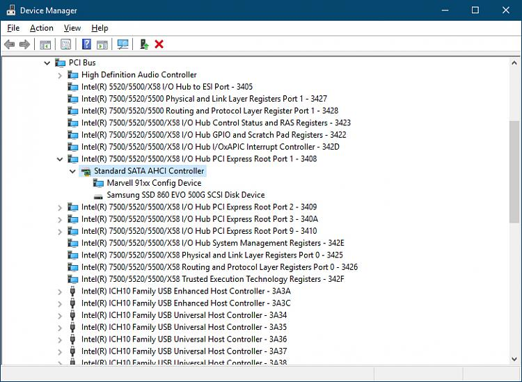 Marvell 91xx Config Missing Driver - Page 2 - Windows 10 Forums