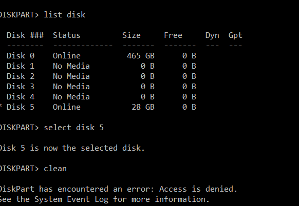 USB stick previously used as a boot stick for Killdisk not recognized-diskpart.png