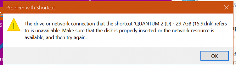 D drive not connecting-image.png