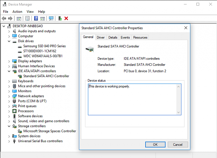 Are my hard drives supposed to use Microsoft drivers Solved