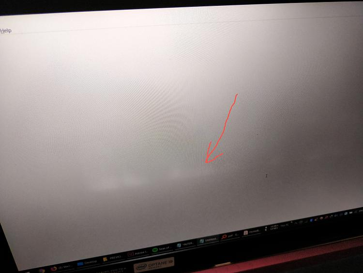 White blotches arranged linearly on the laptop screen-img_20190615_200042_01.jpg