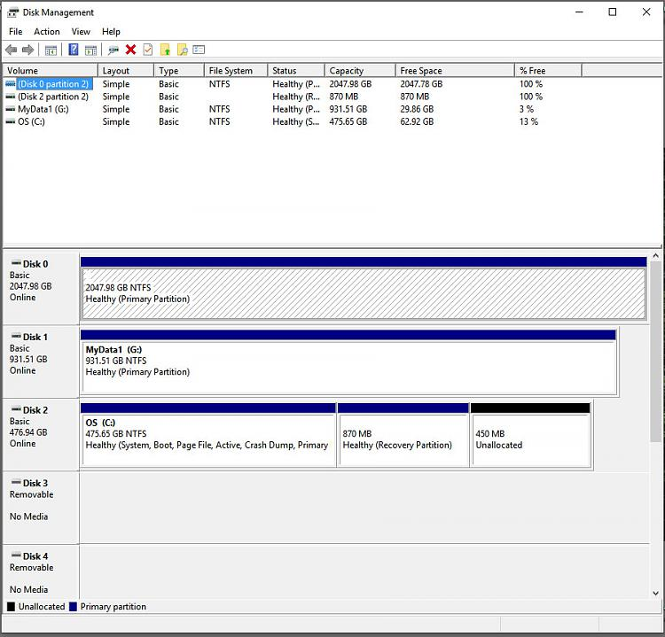 Disk Management shows new 4TB disk as 2TB despite using GPT-disk-management-30-jun-19.jpg