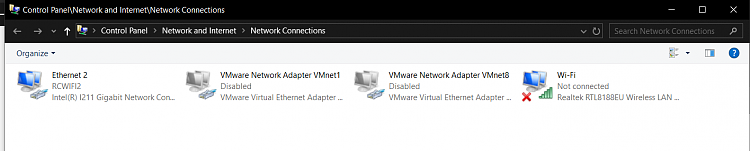 Why my Realtek PCIe GBE Family Controller is disabled in