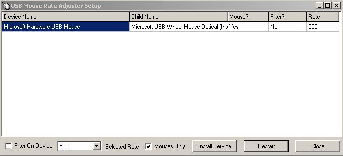 Is there a way to change the mouse polling rate - Windows 10