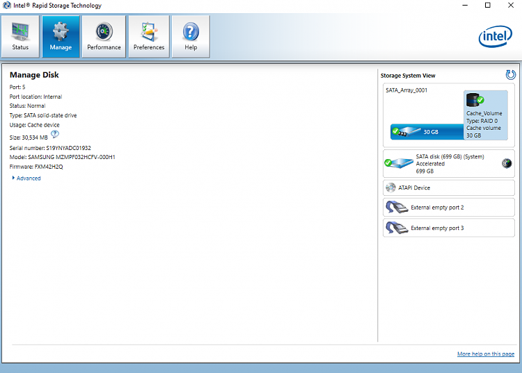 Options to recover a RAW recovery partition or create a new one-ten-forums-irst-flash-cache-part-2.png