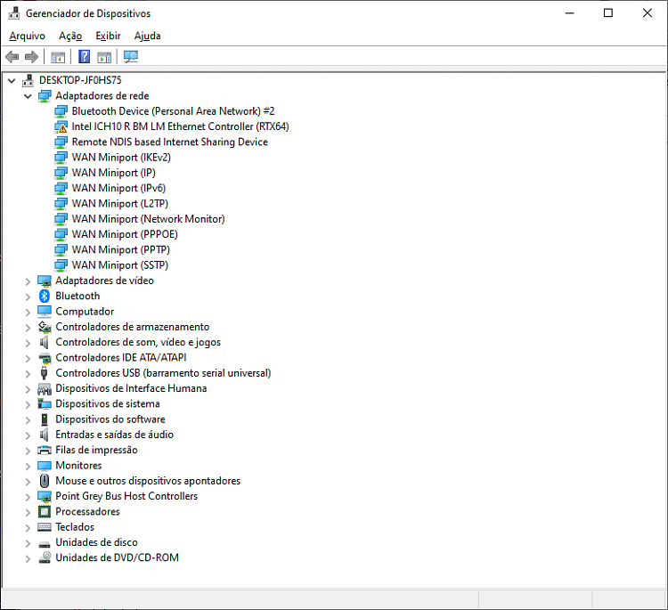 Intel-related network adapter driver issue-w19nets1.png