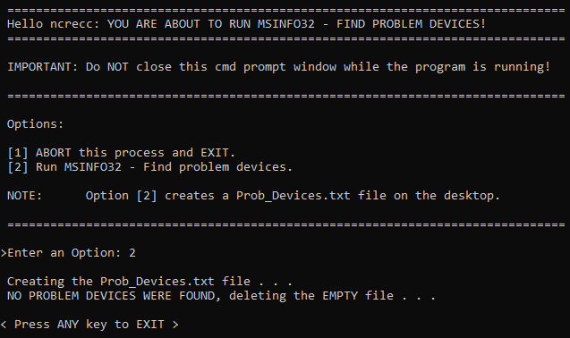 All USB devices suddenly stopped working upon startup a while ago-infofound.png