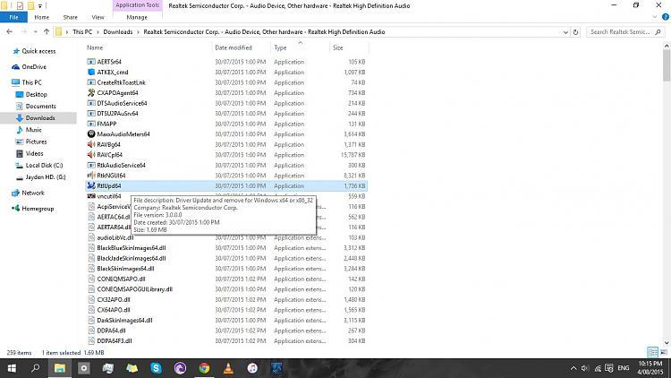 аудио драйвер realtek для windows 10
