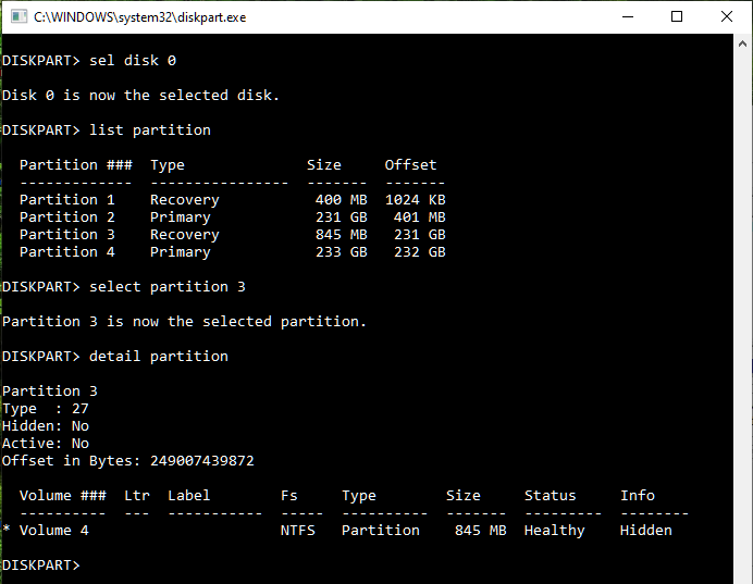 D: drive disappeared-mbr-recovery-partition-id.png