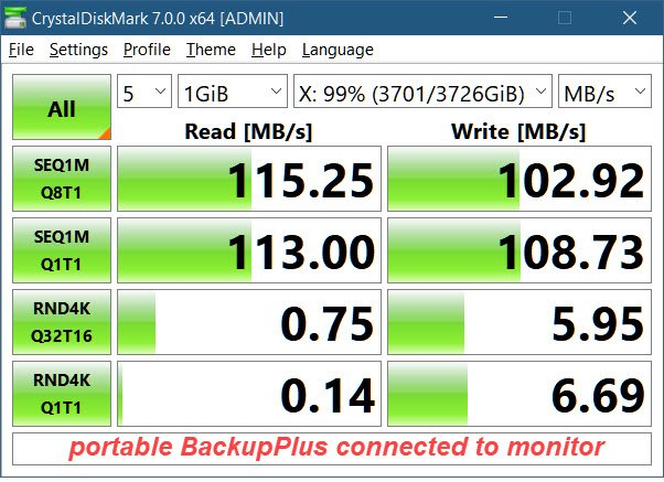 Why is the SSD enclosure benchmarking so low thru the monitor hub?-4tb-backupplus-portable-connected-monitor-hub.jpg