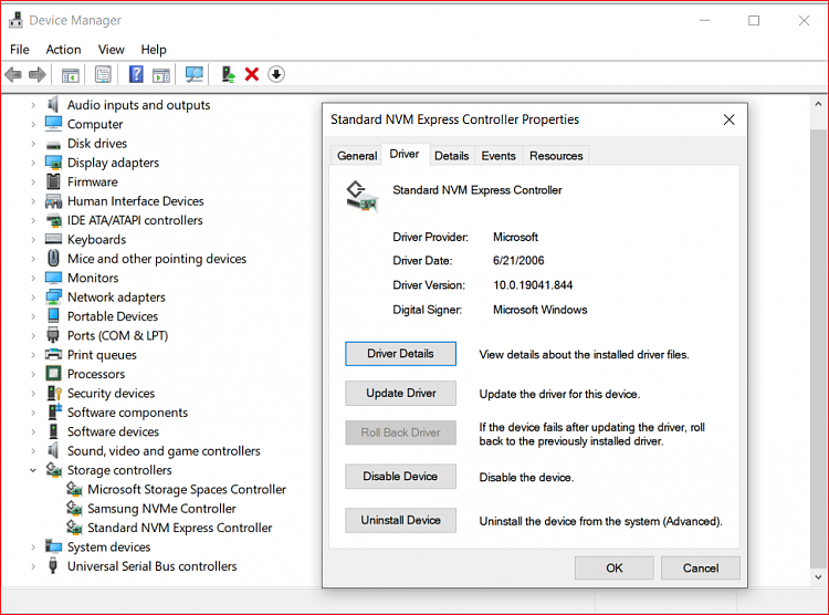 Drivers w10 Pro for Samsung 970 Pro NVMe M.2 need drivers install-image.png
