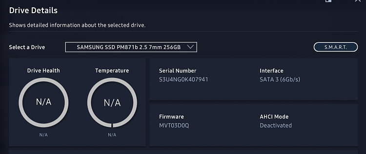 Samsung Magician shows SATA AHCI Deactivated. UEFI show the opposite-samsung-magician.png