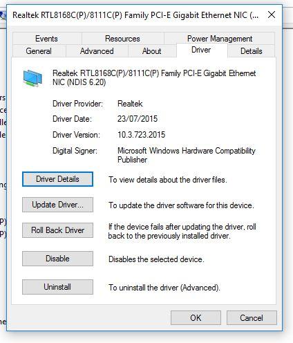 Click image for larger version.  Name:RealTekLAnDriver.JPG Views:25 Size:50.9 KB ID:33365