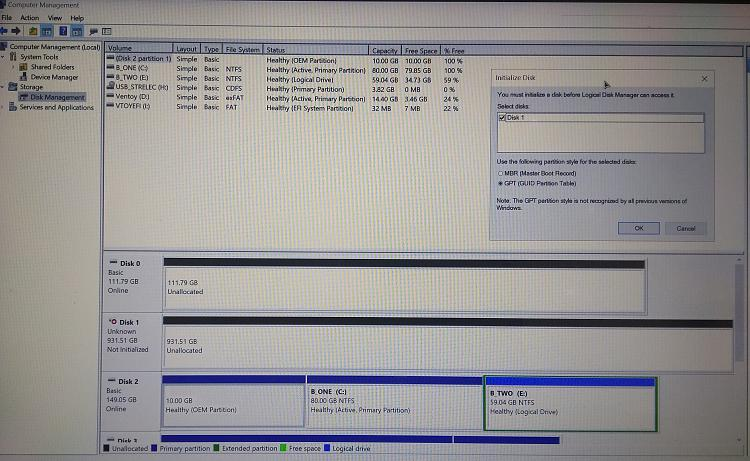 Both my fixed hard disks are showing unallocated - how to proceed-img_20210622_131700986-2.jpg