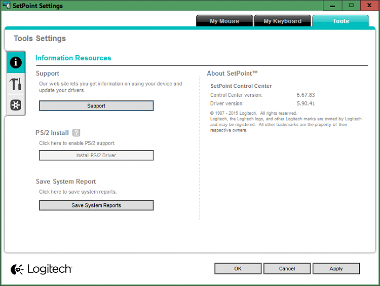 Latest Logitech SetPoint Software - Page 3 - Windows 10 Forums
