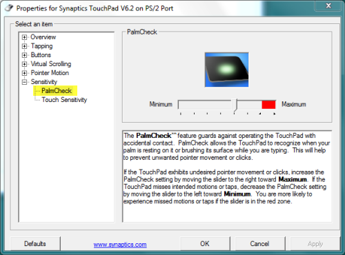 synaptic touchpad driver windows 8.1 acer