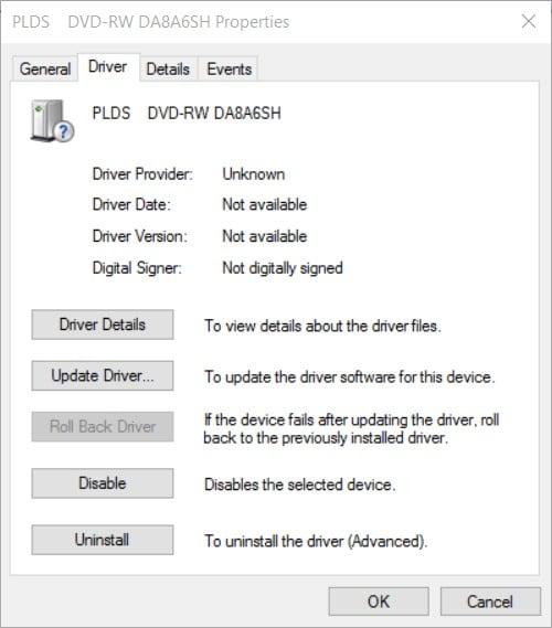 lenovo dvd driver windows 8.1