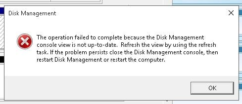 Assigning a drive letter