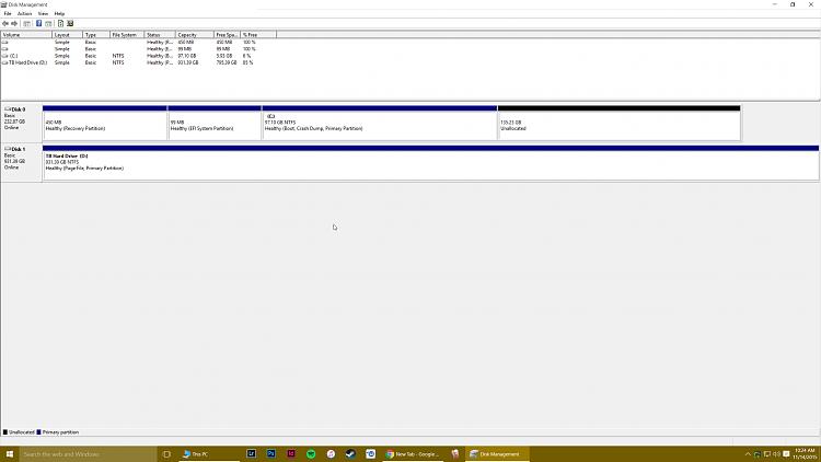 Click image for larger version.  Name:Disk Management Screenshot.png Views:7 Size:134.7 KB ID:48121