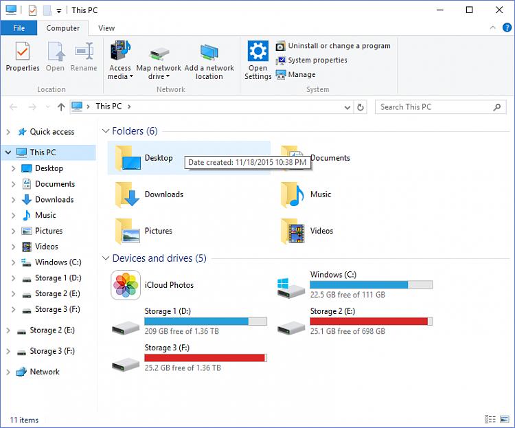 Drives missing from File Explorer's Navigation Pane-q0q5iub.png