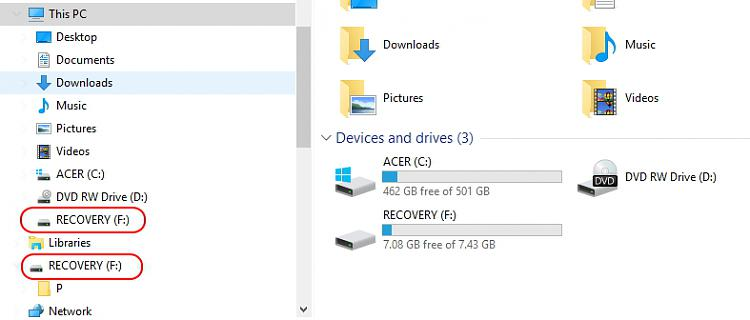 Click image for larger version.  Name:USB drive shows up twice under navigation pane..jpg Views:2 Size:105.8 KB ID:53061