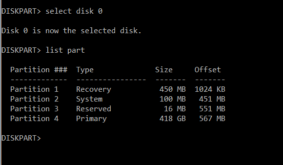 how to add unallocated space to a partition windows 10