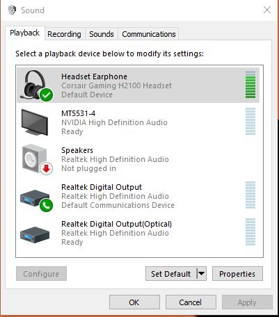 Windows 10 'Speaker not plugged in' problem - Windows 10 Forums