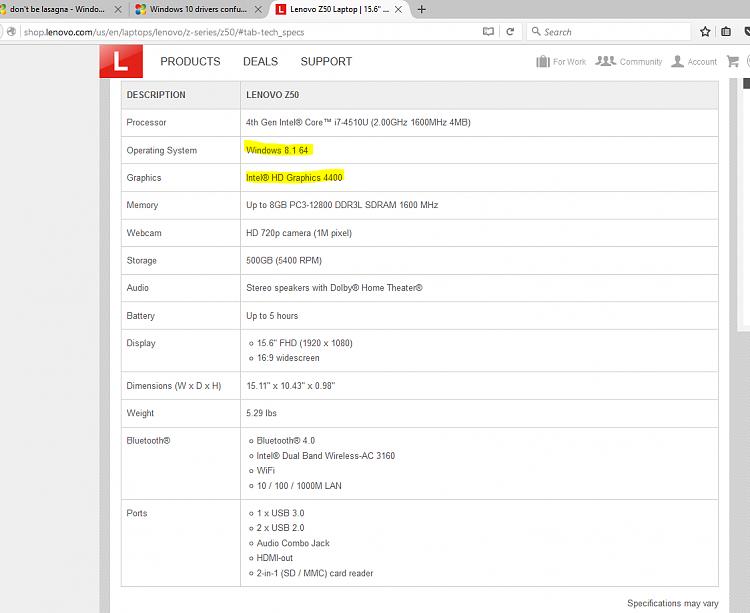 Click image for larger version.  Name:LenovoZ50specs.PNG Views:4 Size:58.7 KB ID:59176