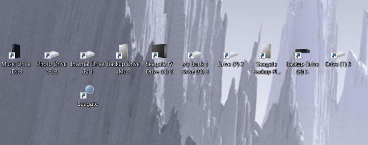 External HD Error Mess: