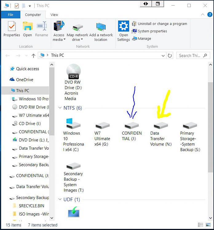 Click image for larger version.  Name:Drives on USB Hub.jpg Views:2 Size:92.5 KB ID:70853
