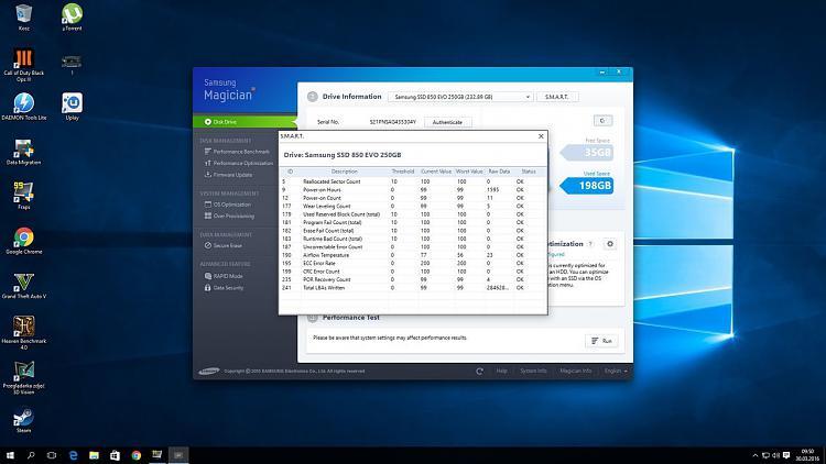 Is my SSD Samsung Evo 850 failing? - Windows 10 Forums