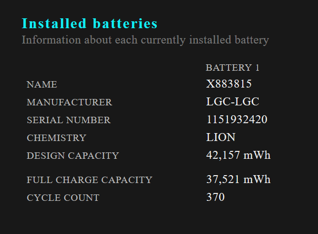 Click image for larger version.  Name:Failing Battery 1.PNG Views:17 Size:34.6 KB ID:75975