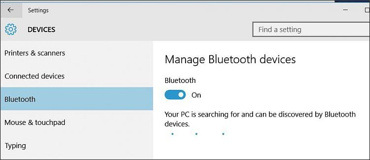 Bluetooth completely missing - Windows 10 Forums