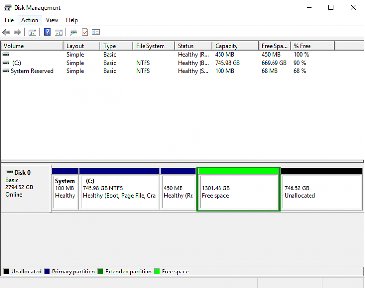 how to format a 3tb hard drive windows 10