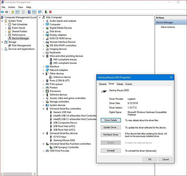 Safe Mode: USB mouse won't work - Windows 10 Forums