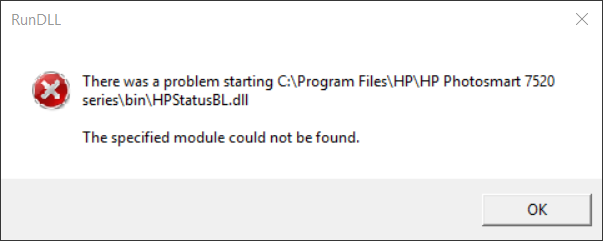 HP Printer Startup Error Solved - Windows 10 Forums