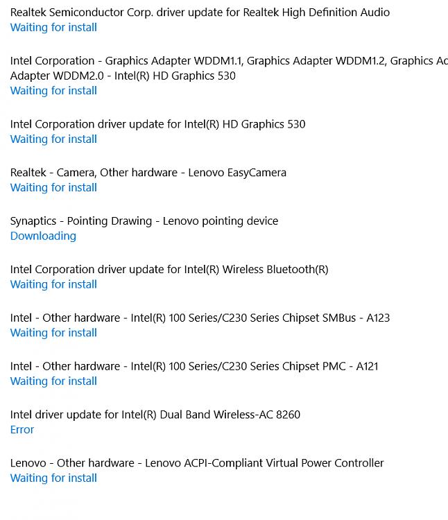 Lenovo Drivers Update
