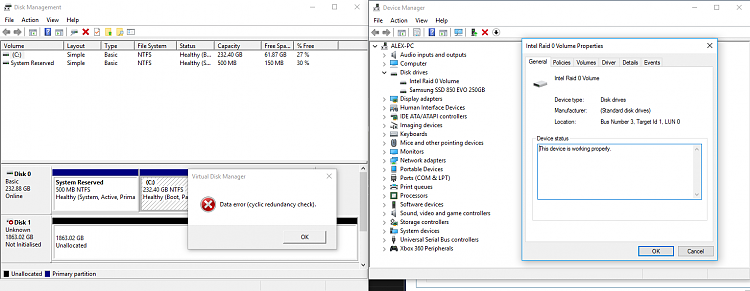 Windows 10 Seeing old HDD as Intel Raid 0, cannot intialize disk-help1.png