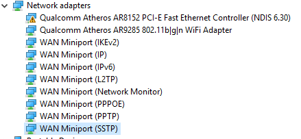 Windows 10 Dell Inspiron 5030N not recognizing TP LINK WN823N USB wifi-network-devices.png