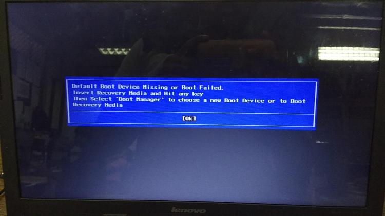 BIOS Detecting HDD, not appearing in Boot Manager - Windows 10 Forums