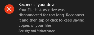 """Reconnect your Drive"" message-reconnect-your-drive.jpg"
