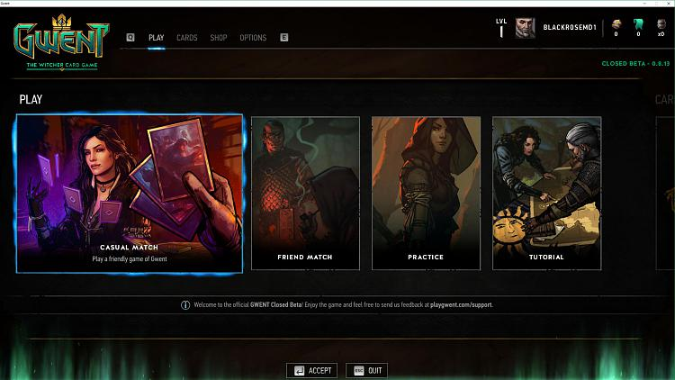 Click image for larger version.  Name:Gwent Closed Beta.jpg Views:3 Size:286.8 KB ID:107864