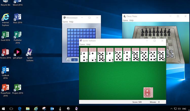windows 10 pro build 1703