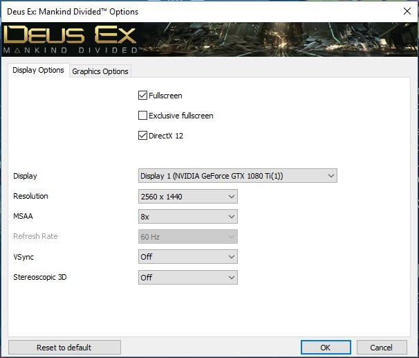 Click image for larger version.  Name:Deus Ex Mankind Devided Settings1.jpg Views:23 Size:62.4 KB ID:135844